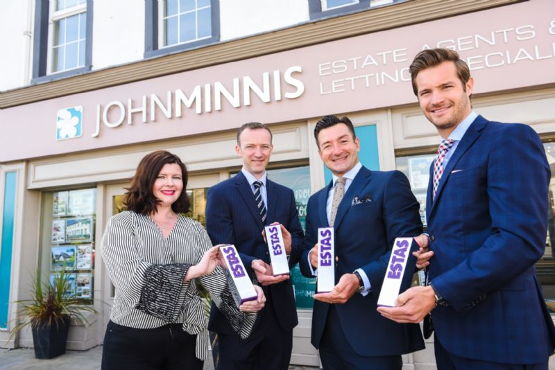 John Minnis Estate Agency ranked 3rd in uk at 2018 estate agent of the year awards!