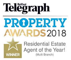 John Minnis Northern Ireland Residential Estate Agent of the year 2018